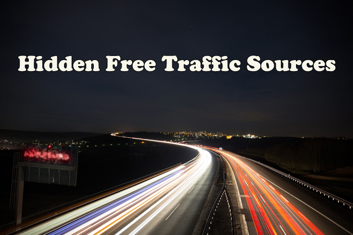 9 Hidden Free Traffic Sources For Your Website