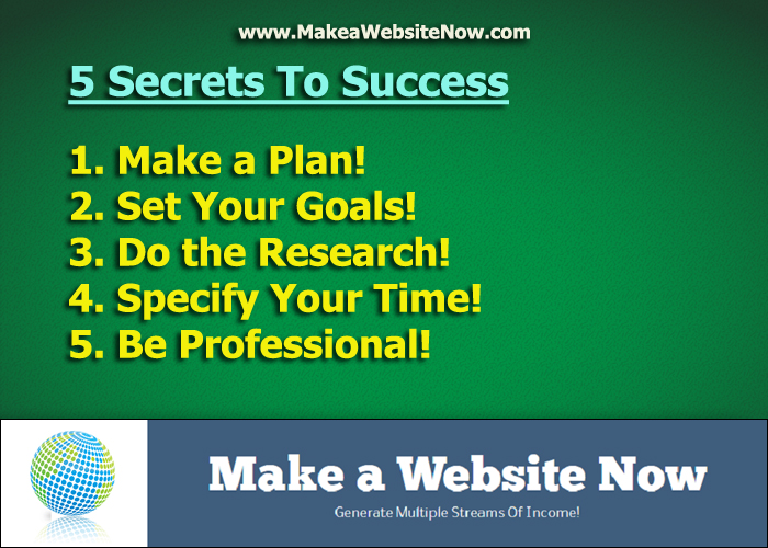 Hot Business Tip 1: 5 Secrets To Success